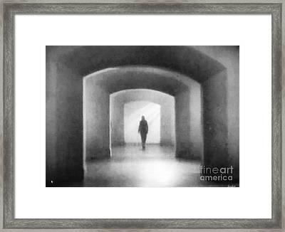 Destiny Calls Framed Print by Lyric Lucas