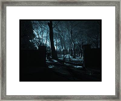 Destiny Framed Print by Thomas Shanahan