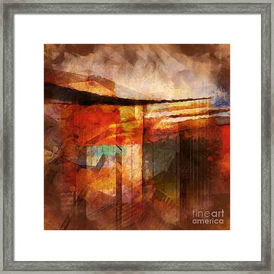 Destinyscape Framed Print by Lutz Baar