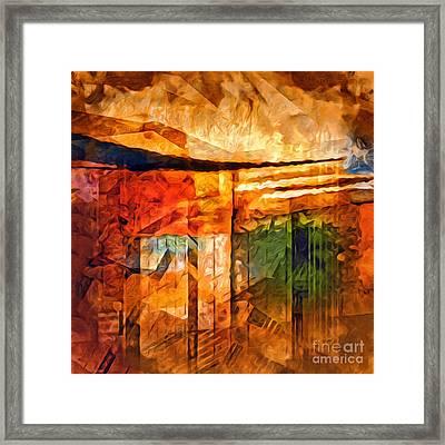 Destinyscape Painting Framed Print by Lutz Baar