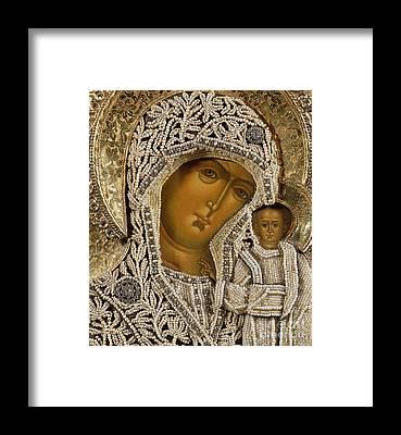 Detail Mixed Media Framed Prints