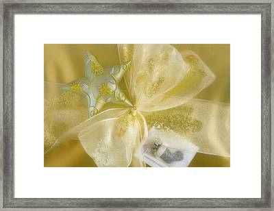 Detail Of Decorations On A Christmas Framed Print