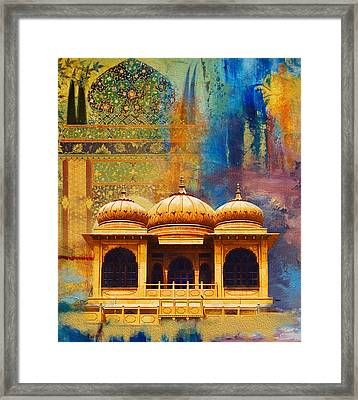 Detail Of Mohatta Palace Framed Print by Catf