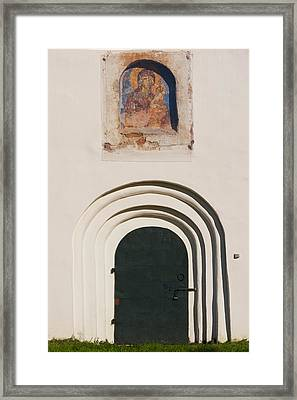 Detail Of The Church Of Our Saviour Framed Print by Panoramic Images