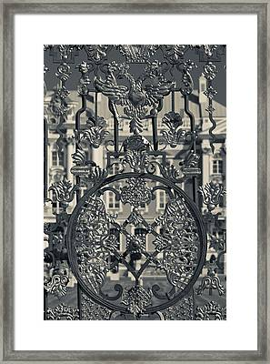 Detail Of The Palace Gate, Catherine Framed Print by Panoramic Images