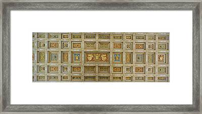 Details Of The Ceiling Of A Basilica Framed Print by Panoramic Images