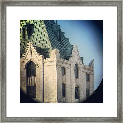 Details Of The Pittsfield  Framed Print