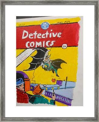 Detective Comic 27 Framed Print by Treavor Pence