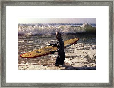 Determination Framed Print by Ron Regalado