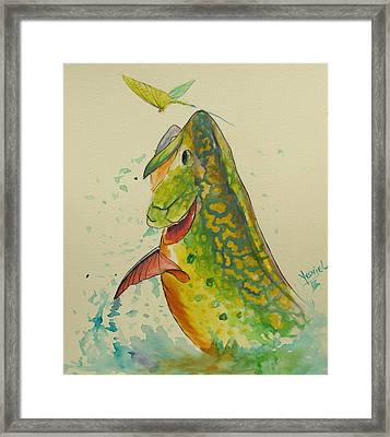 Determination  Framed Print by Yusniel Santos