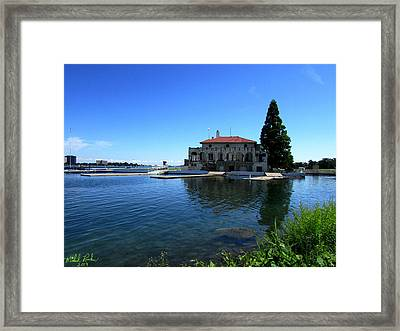 Detroit Boat Club Framed Print