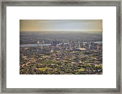 Detroit City  Framed Print by Nicholas  Grunas