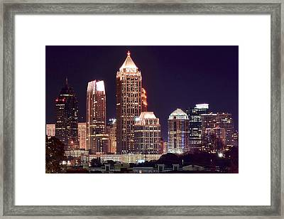 Atlanta Towers Framed Print