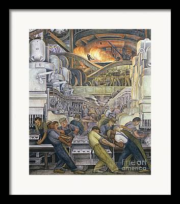 Industry Framed Prints