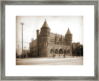 Detroit Museum Of Art, Detroit Museum Of Art Framed Print by Litz Collection