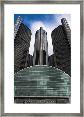 Detroit Renaissance Framed Print by Gales Of November