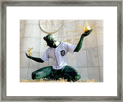 Detroit Spirit Framed Print by Kristine Crook