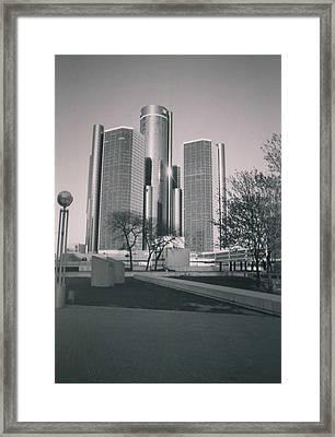 Detroit2 Framed Print