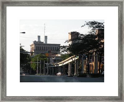 Detroit3 Framed Print