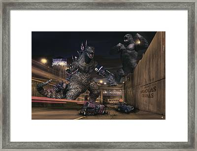 Detroits Zoo Framed Print by Nicholas  Grunas