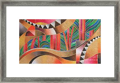 Deuba Sunset Framed Print