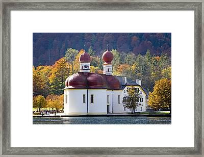 Deutschland, Bayern, Nationalpark Framed Print