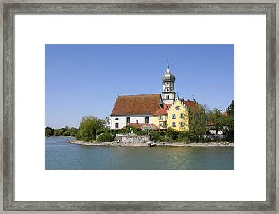 Deutschland, Bayern, Wasserburg Am Framed Print by Tips Images