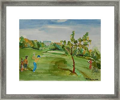 Developing Country     Framed Print by Geeta Biswas