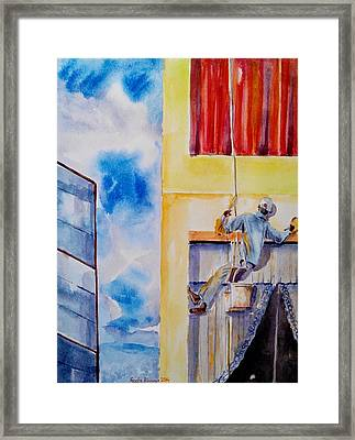 Developing Country Framed Print