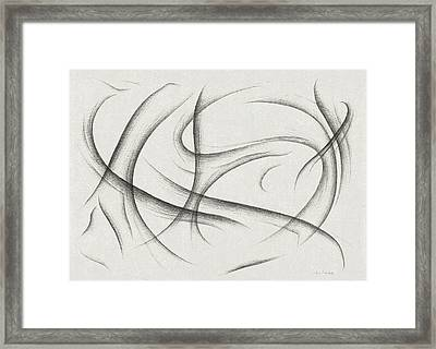 Developing Love Framed Print