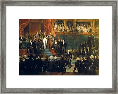 Deveria, Eug�ne 1805-1865 Framed Print