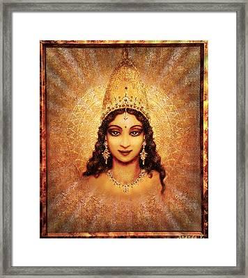 Devi Darshan Framed Print by Ananda Vdovic