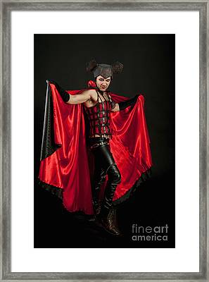 Devil 1 Framed Print by Ilan Amihai