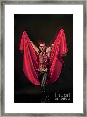 Devil 3 Framed Print by   Ilan Amihai