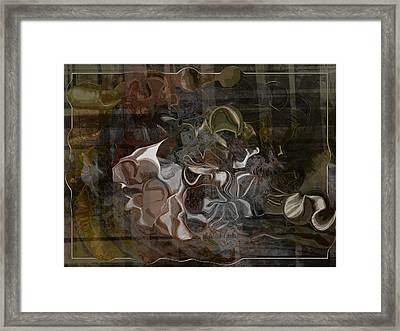 Devil And The Deep Blue Seam Framed Print by Jim Williams