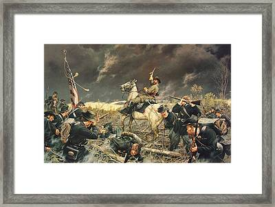 Devil At Fallen Timbers Framed Print by Dan Nance