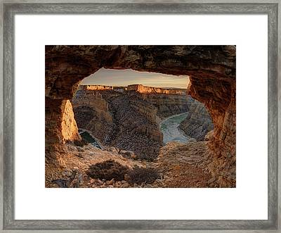 Devil Canyon View Framed Print