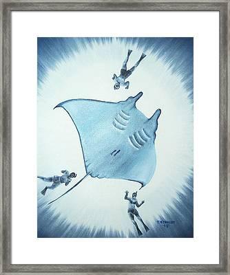 Devil Fish Framed Print