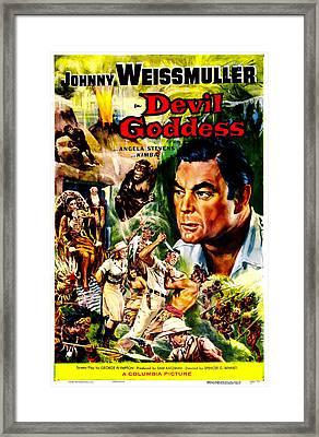 Devil Goddess, Us Poster, Johnny Framed Print by Everett