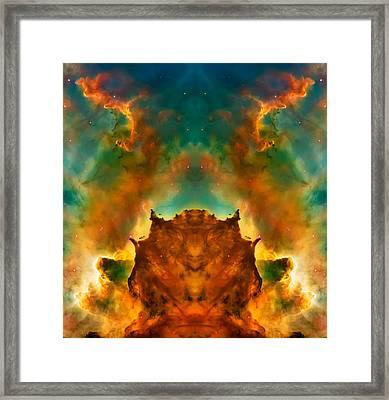 Devil Nebula Framed Print by Jennifer Rondinelli Reilly - Fine Art Photography