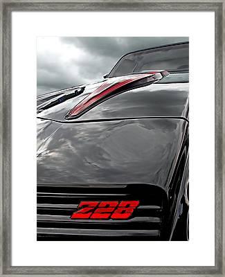 Devil Of A Ride - Camaro Z28 1981 Framed Print