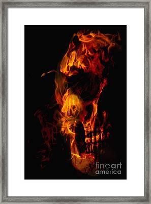 Devil Within Framed Print