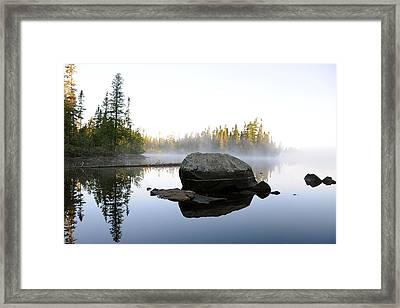 Framed Print featuring the photograph Devilfish Dawn by Sandra Updyke