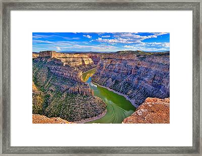 Devil's Canyon Overlook Framed Print by Greg Norrell