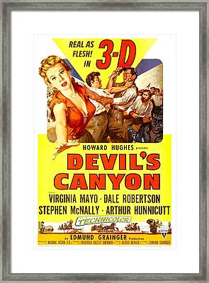 Devils Canyon, Us Poster, From Left Framed Print