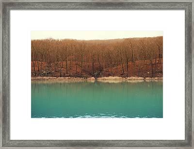 Devil's Den Autumn Framed Print