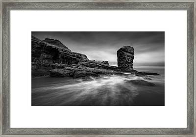 Devil's Head Framed Print by Dave Bowman