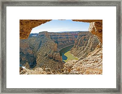 Devils Overlook Framed Print