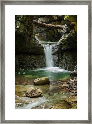 Devil's Pass Canyon Framed Print by Davorin Mance