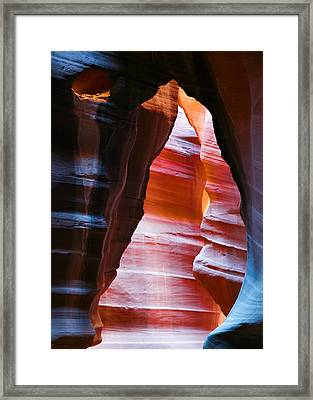 Devil's Passage Framed Print